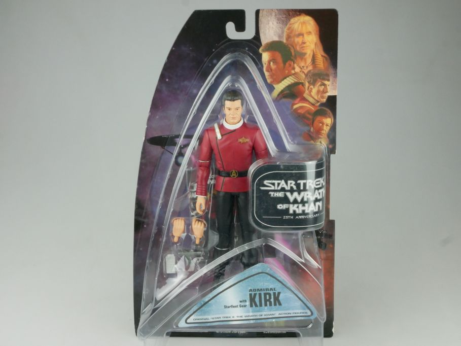 STAR TREK II Admiral Kirk Actionfigur 25th Wrath of Khan Diamond Select 111556