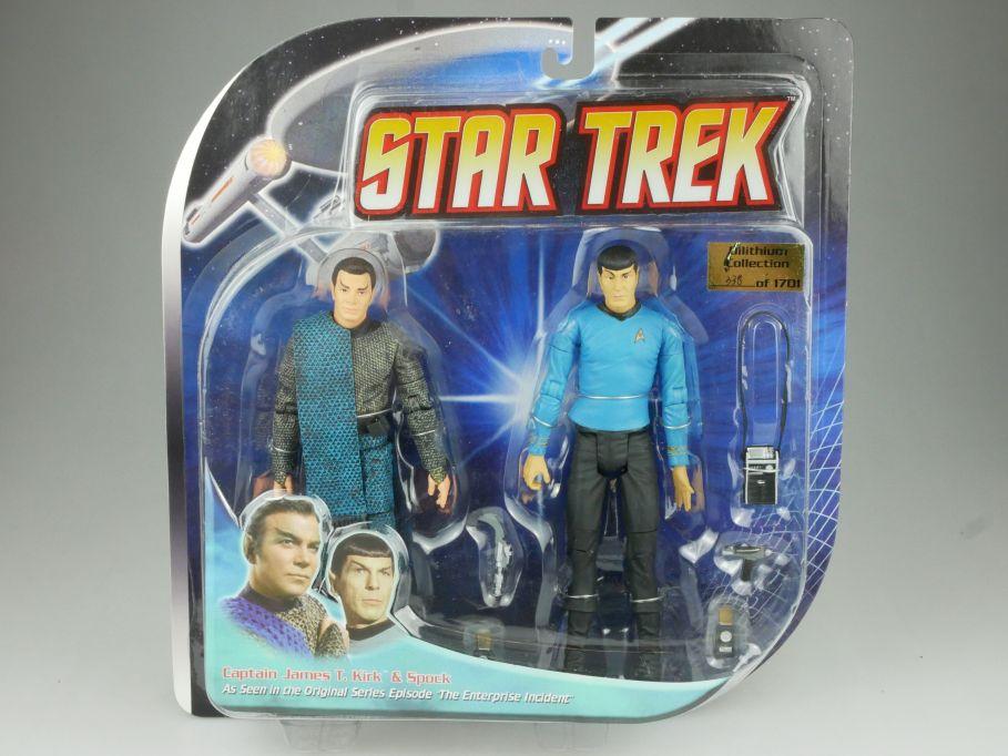 Diamond Select STAR TREK Kirk as Romulan und Mr Spock Figur Enterprise 111569