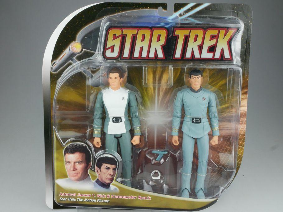 Diamond Select STAR TREK Admiral Kirk & Commander Spock Figur Enterprise 111570