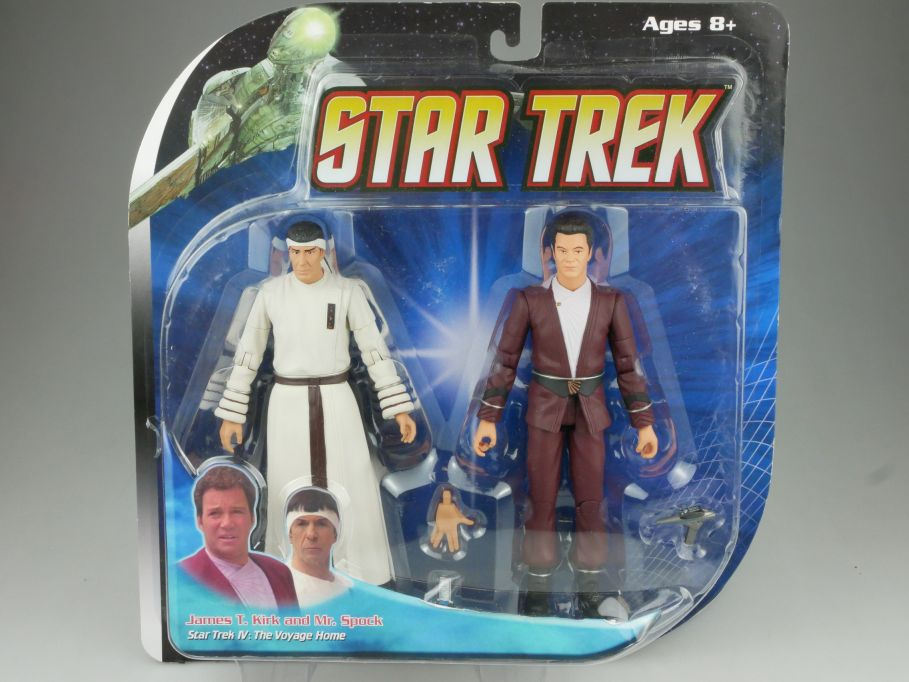 Diamond Select STAR TREK Admiral Kirk & Mr. Spock Voyage Home Enterprise 111571