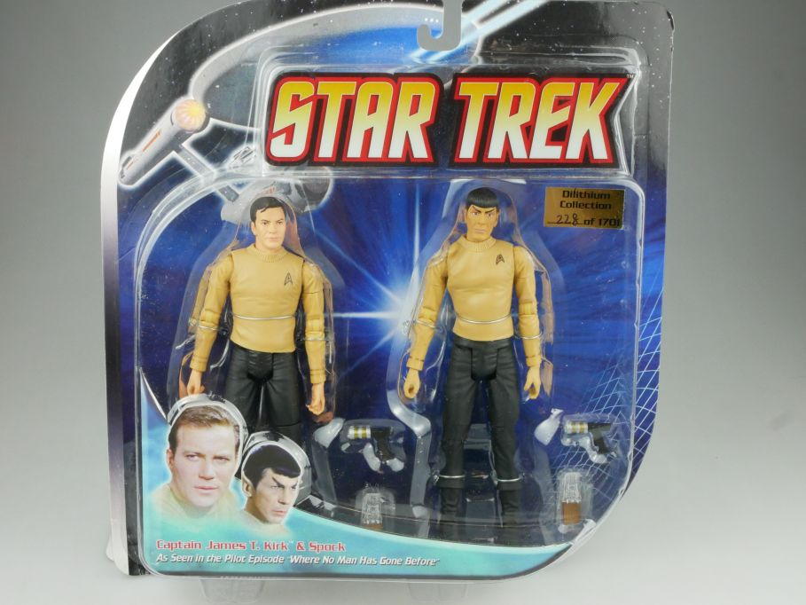 Diamond Select STAR TREK where no man has gone before Kirk & Spock Figur 111577