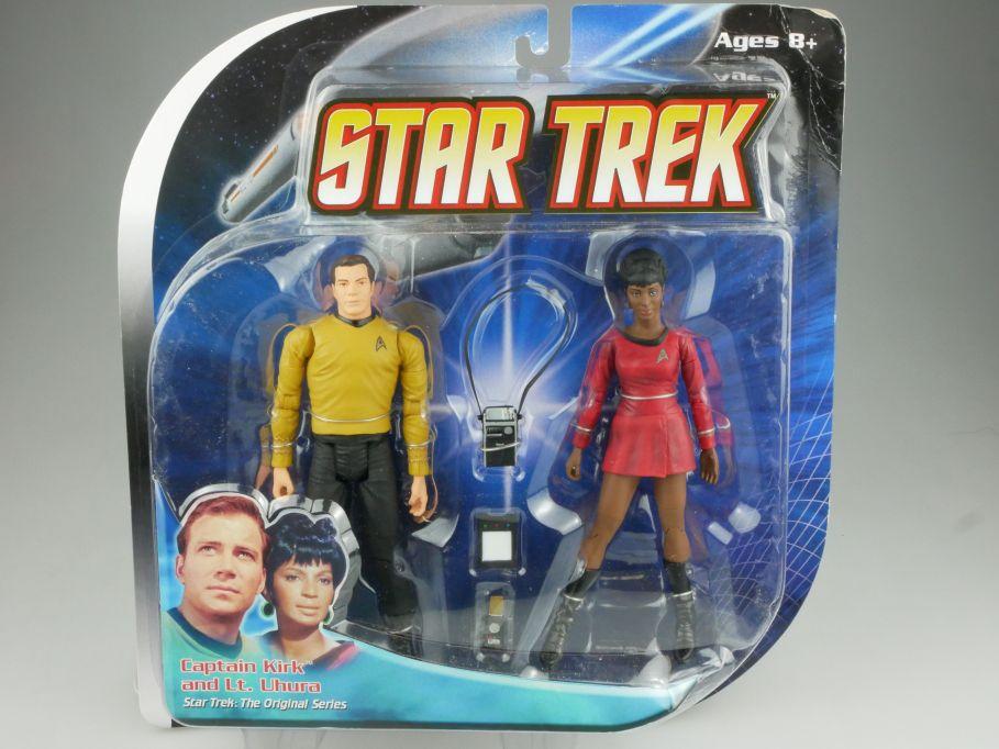 Diamond Select STAR TREK orig. Series Captain Kirk & Lt Uhura Actionfigur 111576