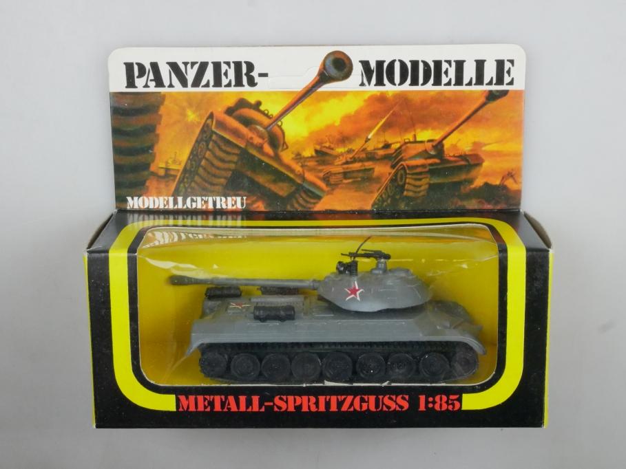 Plasty 1/85 Metall Panzer T 10 Josef Stalin III 8353 vintage Blister 111661
