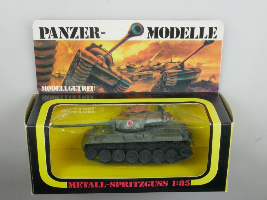Plasty 1/85 Metall Panzer Type 61 Japan 8354 selten vintage Blister 111666