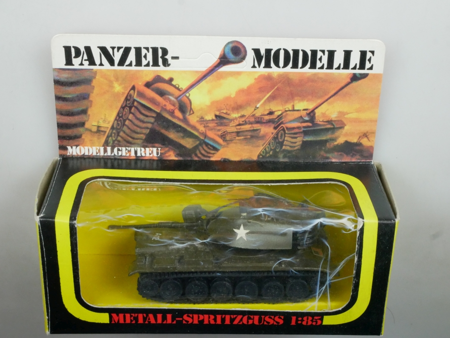 Plasty 1/85 Metall Panzer M 60 A 1 Patton 8350 selten vintage Blister 111670