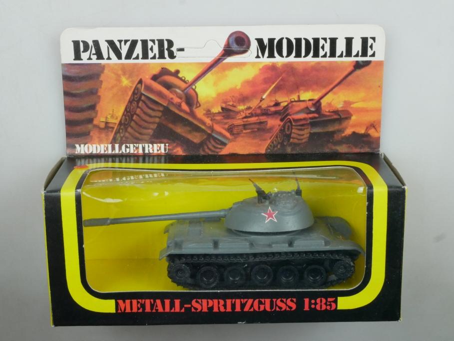 Plasty 1/85 Metall Panzer T 54 8357 Sammler selten vintage Blister 111669