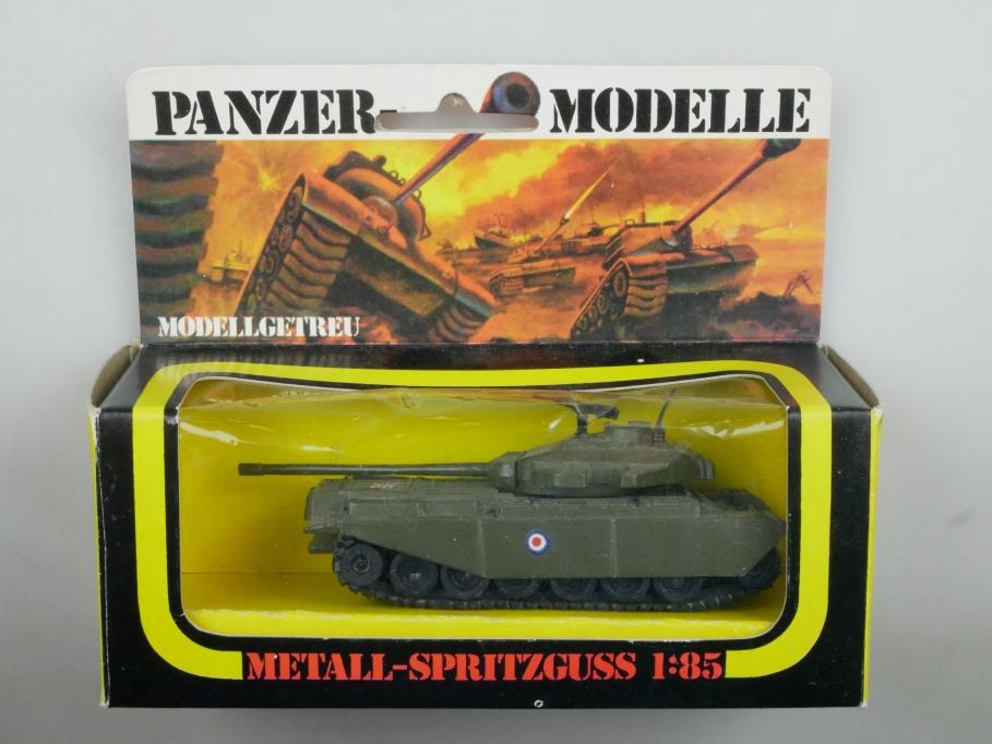 Plasty 1/85 Metall Panzer Centurion 8357 Sammler selten vintage Blister 111668