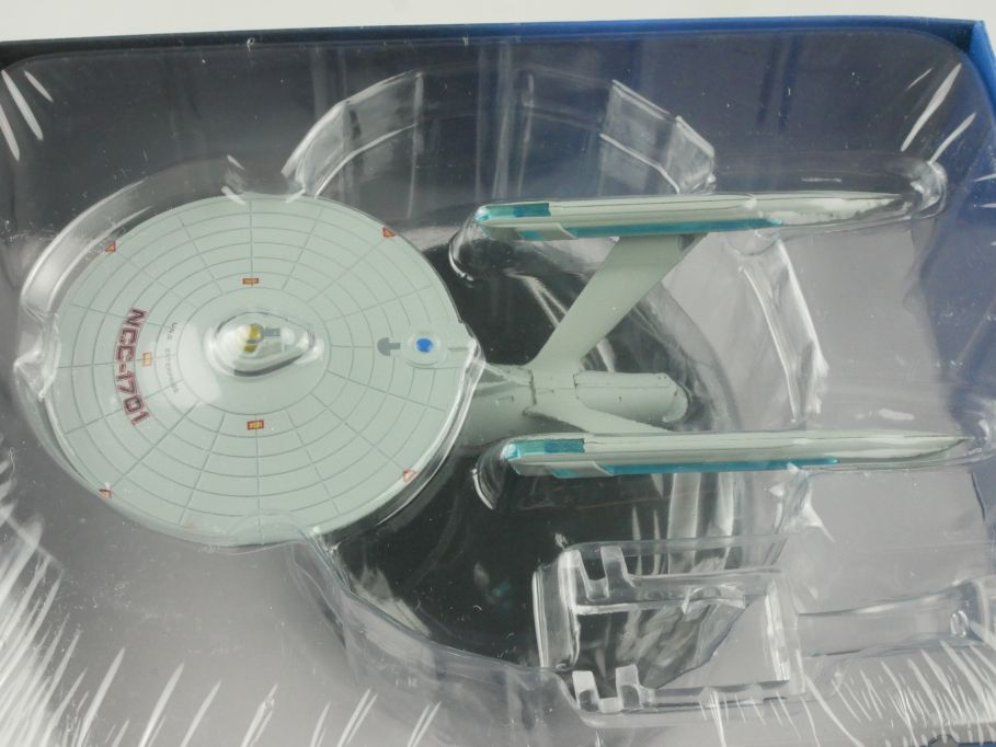 EAGLEMOSS Star Trek #2 USS Enterprise NCC-1701 13,5cm Raumschiff Starship 111617