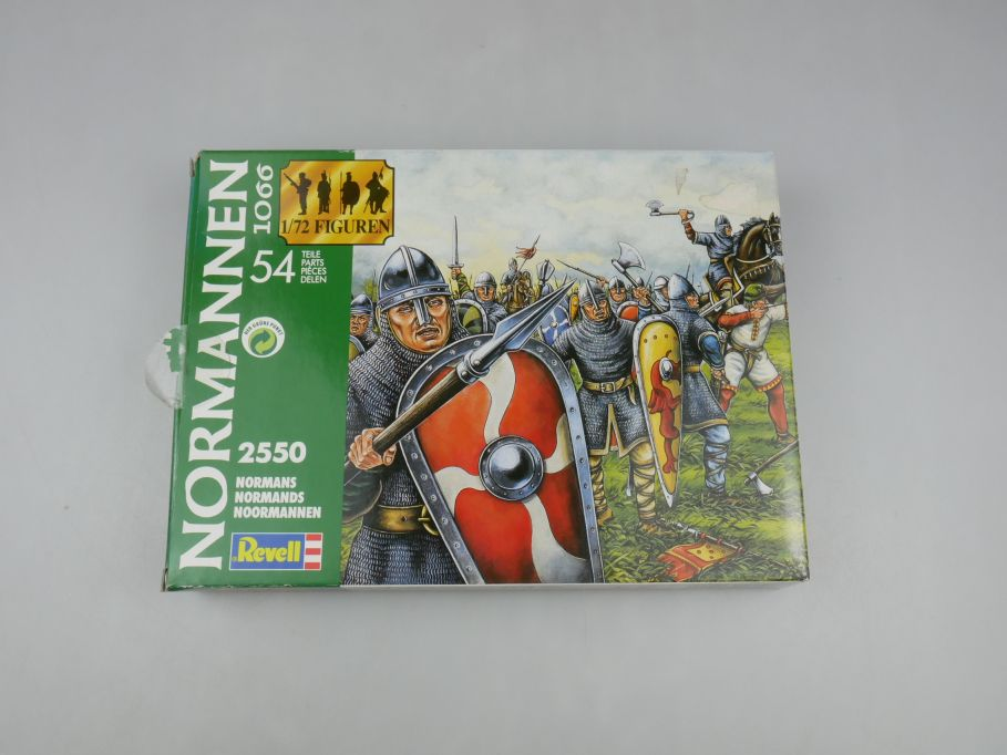 Revell 1/72 Normannen 1066 Nr 2550 54 Teile figure kit w/ Box 111703