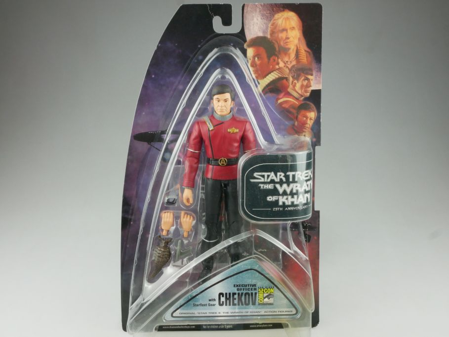 STAR TREK II Chekov Actionfigur 25th Wrath of Khan Diamond Select 111715