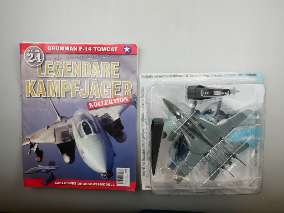 Amer Com 1/100 2003 Grumman F-14 A Tomcat Nr.24 Flugzeug plane Blisterbox 111719