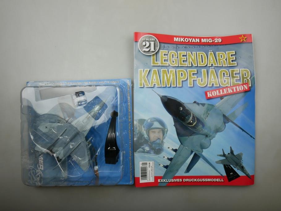"Amer Com 1/100 1991 MiG 29 ""Fulerum"" Nr. 21 Flugzeug plane Blisterbox 111720"