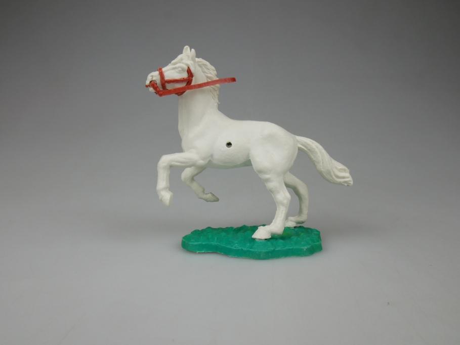 Timpo Pferd weiß Zügel braun selten 111832