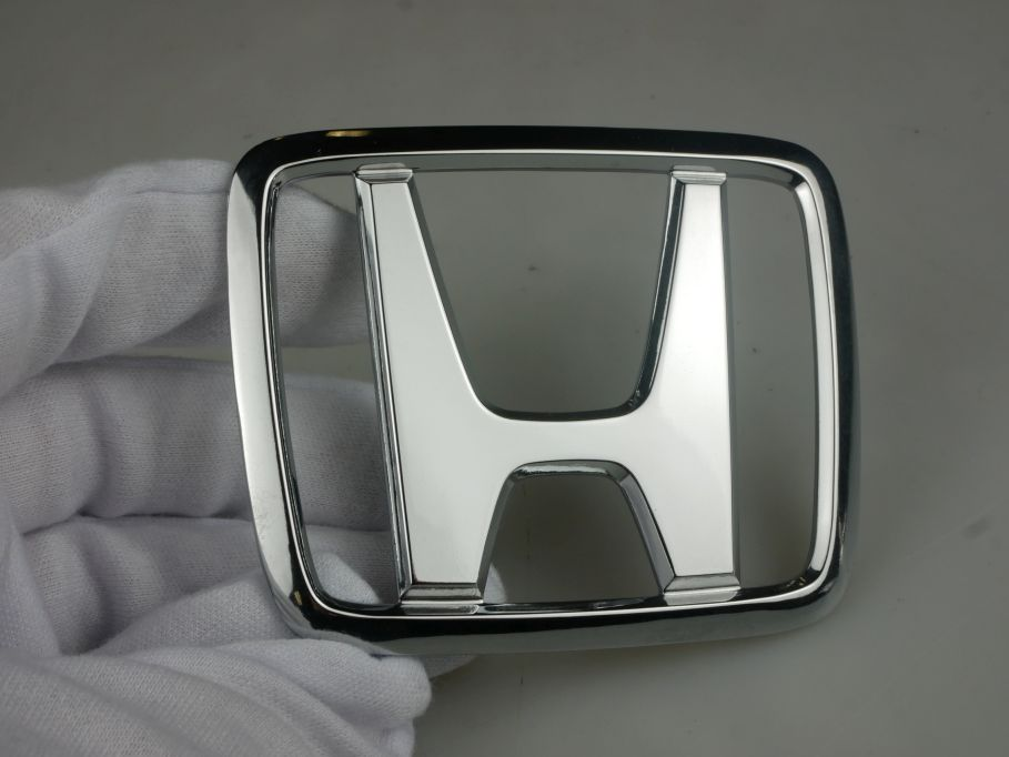 HONDA Emblem chrom chrome Logo 79mm x 65mm sign Zeichen badge 111851