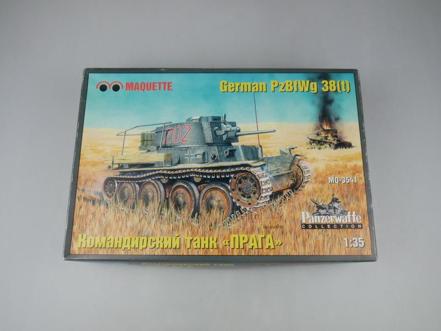 Maquette 1/35 German PzBfWg 38(t) Praga tank Panzer kit w/ Box 111799