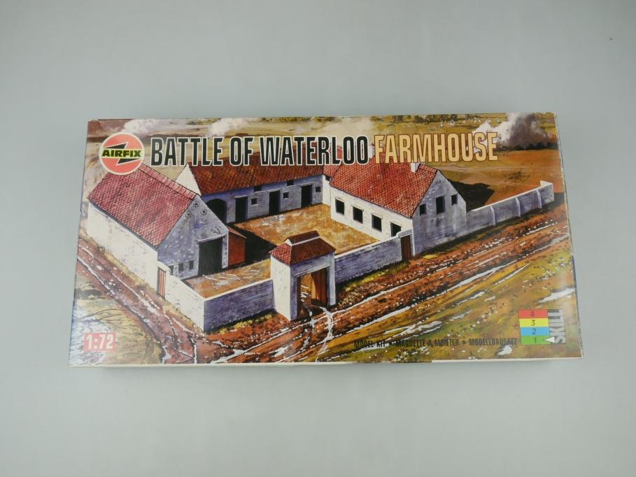 Airfix 1/72 Battle of Waterloo Farmhouse Gebäude model kit w/ Box 111859