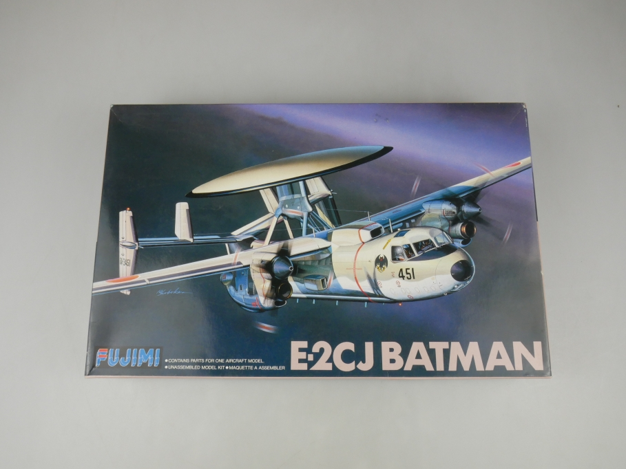 Fujimi 1/72 E-2CJ Batman Q-10 Flugzeug plane model kit w/ Box 111860