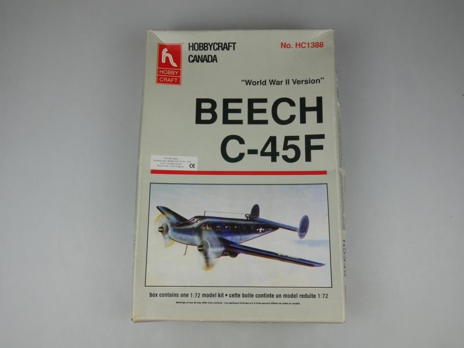 Hobbycraft 1/72 Beech C-45F HC1388 Flugzeug plane model kit w/ Box 111861