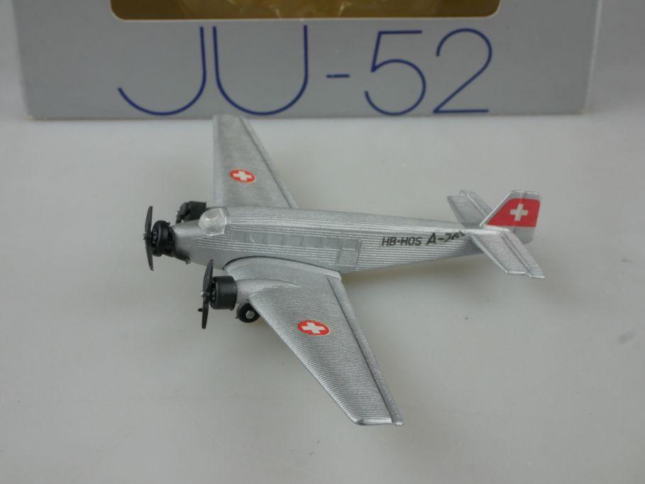 1:250 Junkers Ju-52 Metall Modell A-701 HB-HOS Schabak 1027 + Box 111919