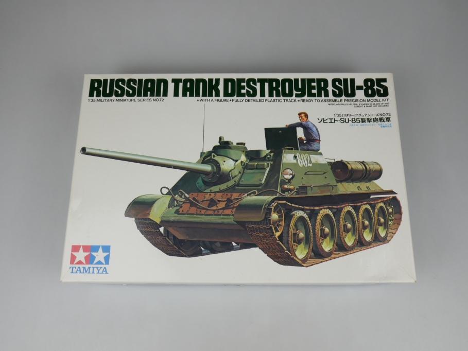 Tamiya 1/35 Russian Tank Destroyer SU-85 Panzer tank model kit w/ Box 111889