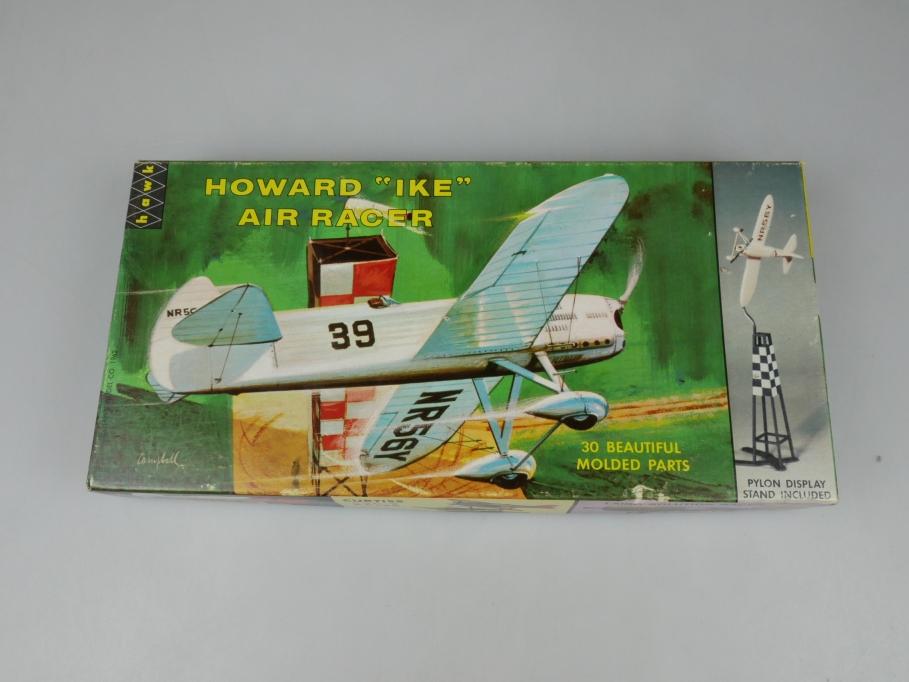 Hawk 1/48 Howard Ike Air Racer plane 1962 Sammler Vintage kit w/ Box 111910