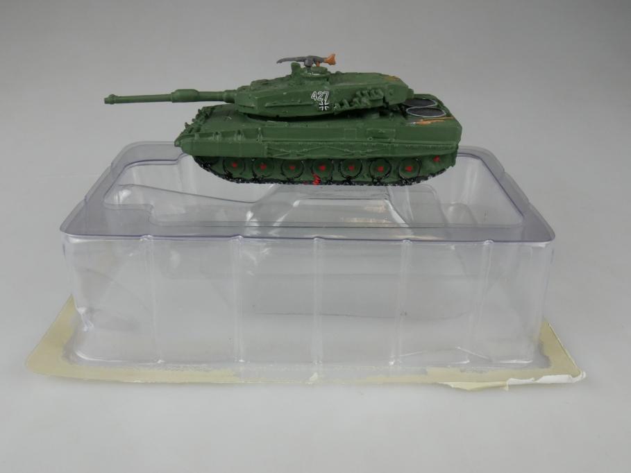 Andrea Miniatures 1/87 Leopard 2A3 Deutschland Oliv Metall Tank w/ Box 111950