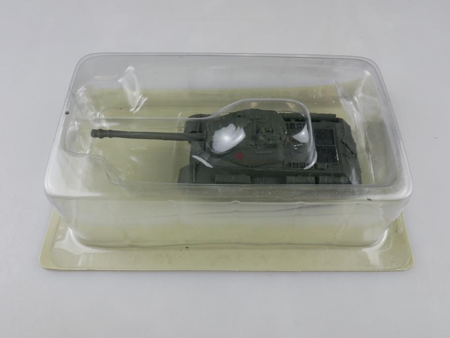Andrea Miniatures 1/87 Josef Stalin JS-2 Russland Oliv Metall Tank w/ Box 111953
