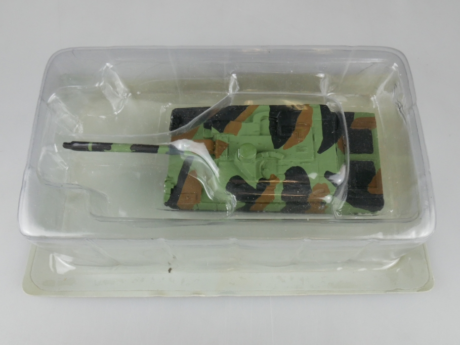 Andrea Miniatures 1/87 AMX 56 Leclerc Frankreich Grün Metall Tank w/ Box 111957