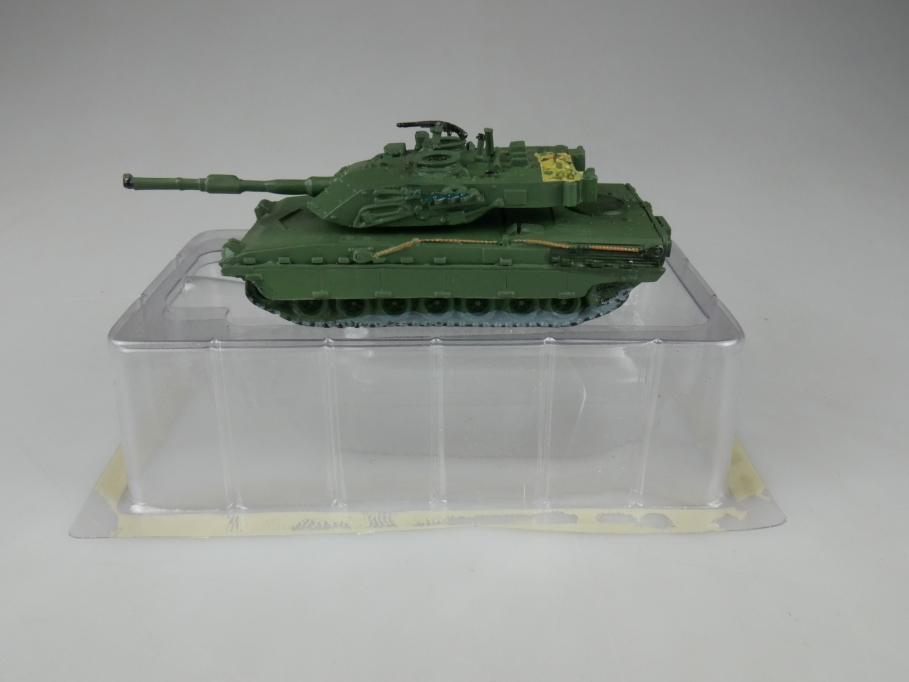 Andrea Miniatures 1/87 Ariete Italien Grün Metall Tank Panzer w/ Box 111959
