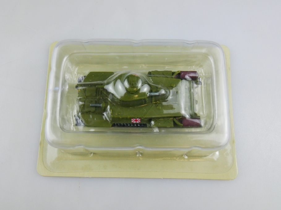 Andrea Miniatures 1/87 CHI-HA Japan Grün Metall Tank Panzer w/ Box 111998