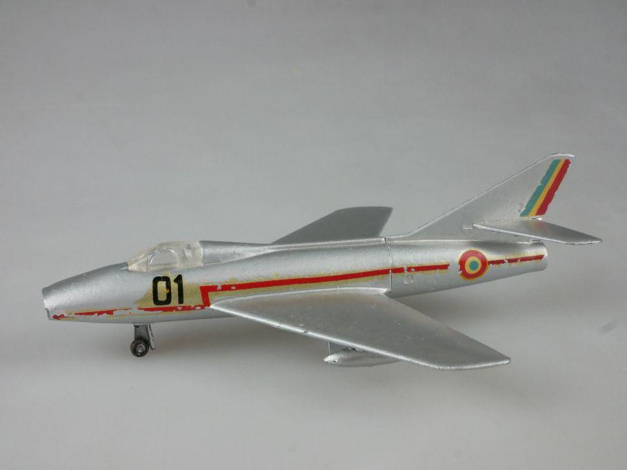 Tekno Denmark 788 jet fighter Super Mystere Dassault B1 plane 1/125 PSch 112030