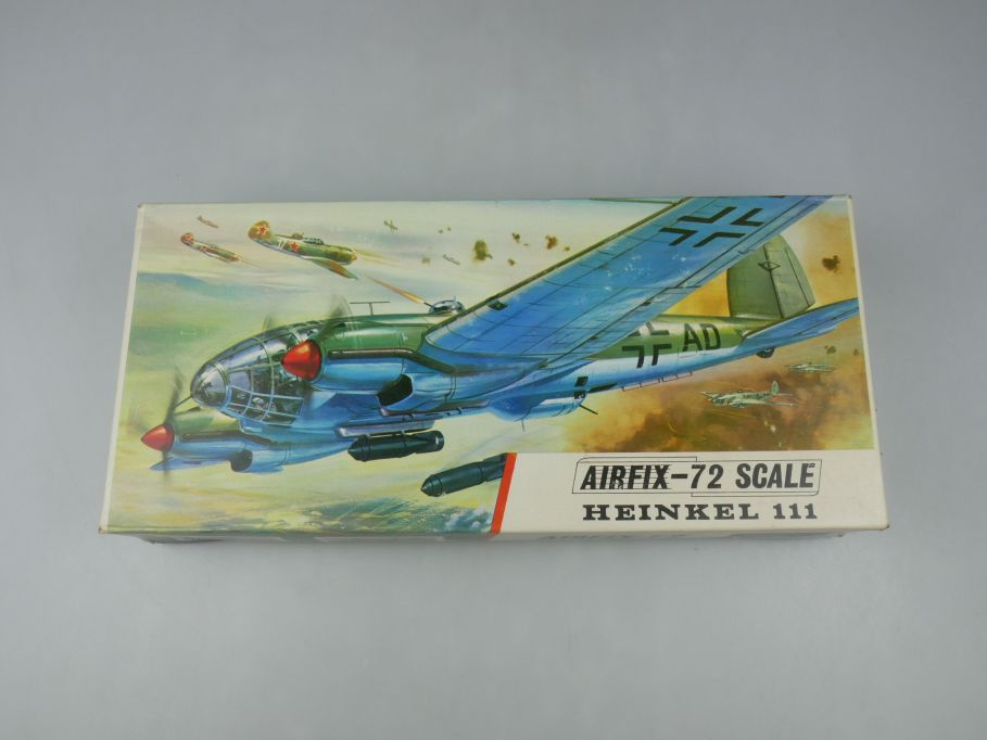 Airfix 1/72 Heinkel 111 Flugzeug plane model kit w/ Box 111877