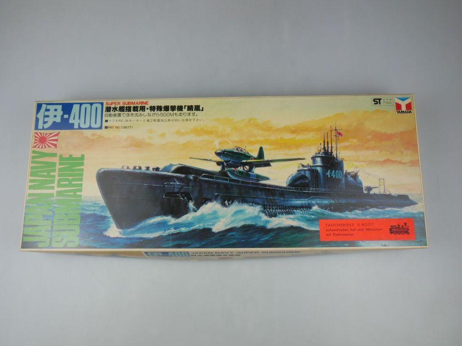 Yamada 1/300 I-400 Japan Navy Super Submarine Vintage kit w/ Box 111882