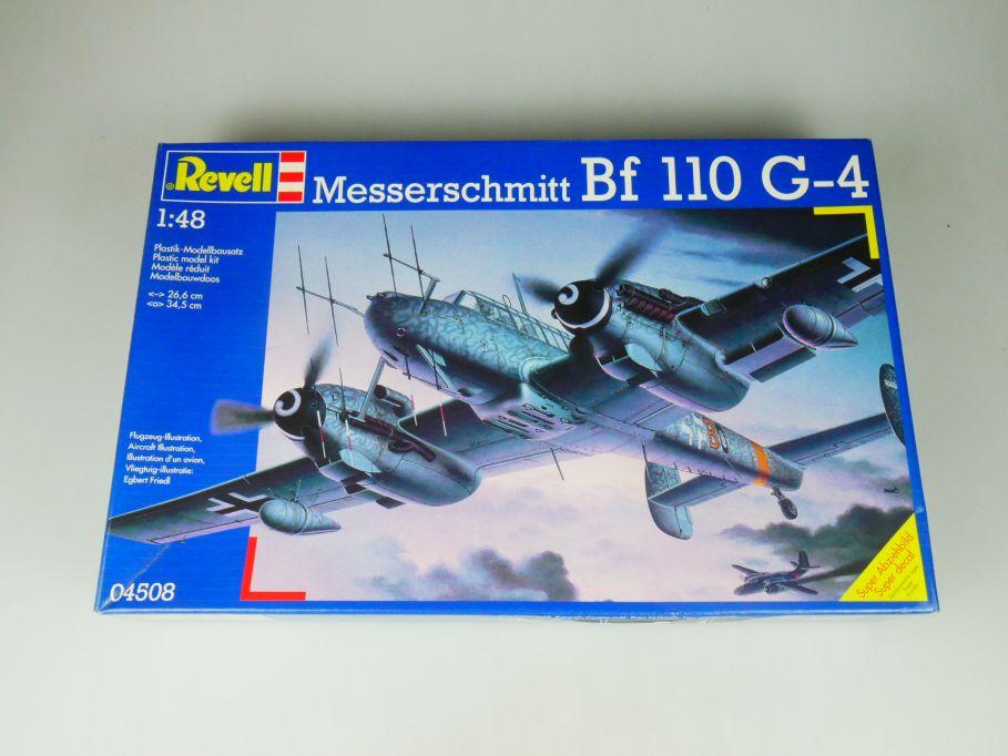 Revell 1/48 Messerschmitt Bf G-4 Flugzeug plane model kit w/Box 112114