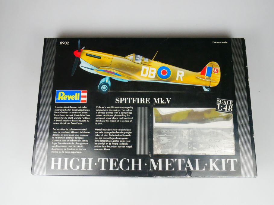 Revell 1/48 Spitfire Mk.V Flugzeug plane model metal kit w/ Box 112116