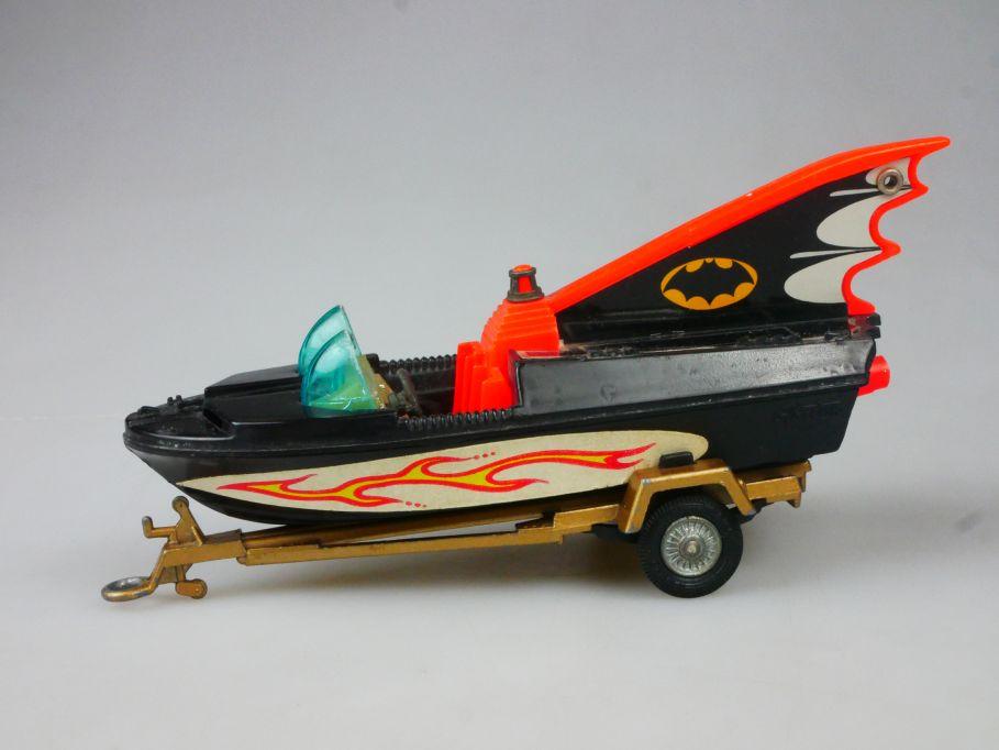 Corgi 107 Batboat Glastron Boot Trailer Anhänger Bootsanhänger Batman 112058