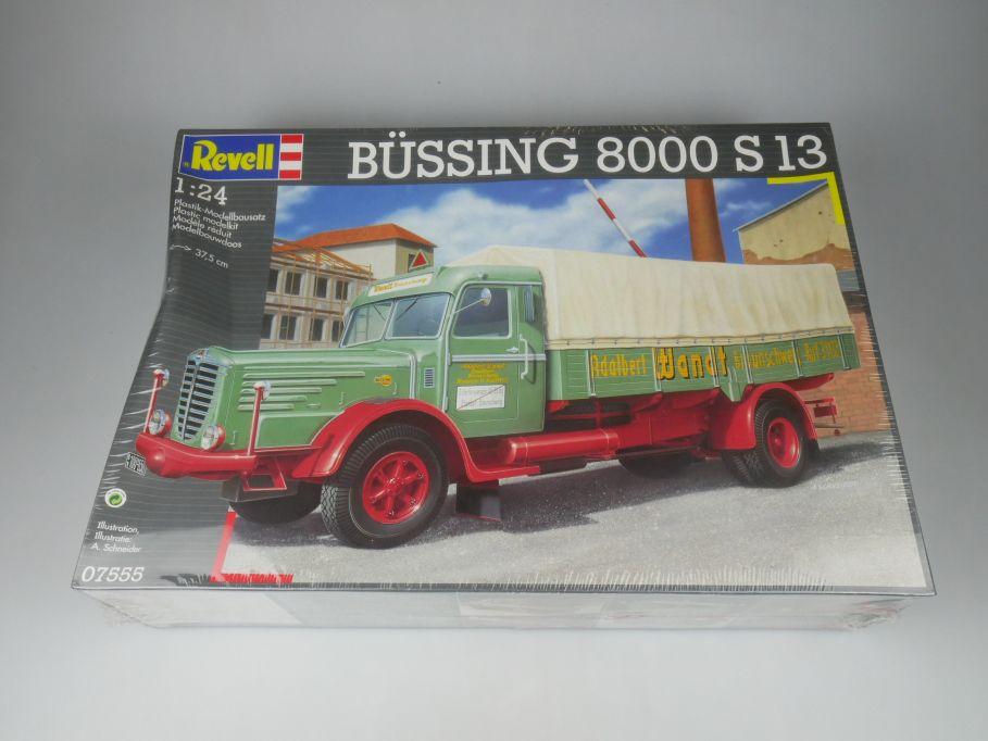 Revell 1/24 Büssing 8000 S13 truck car model kit w/ Box 112127