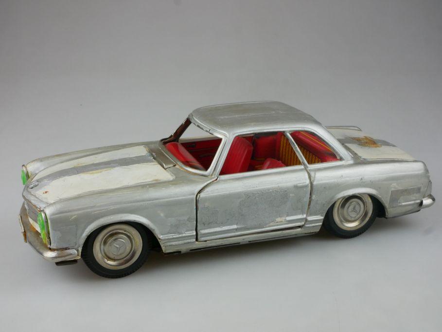 vintage Chiko PU Japan Blech Mercedes Benz 230 SL W113 tin toy 112098