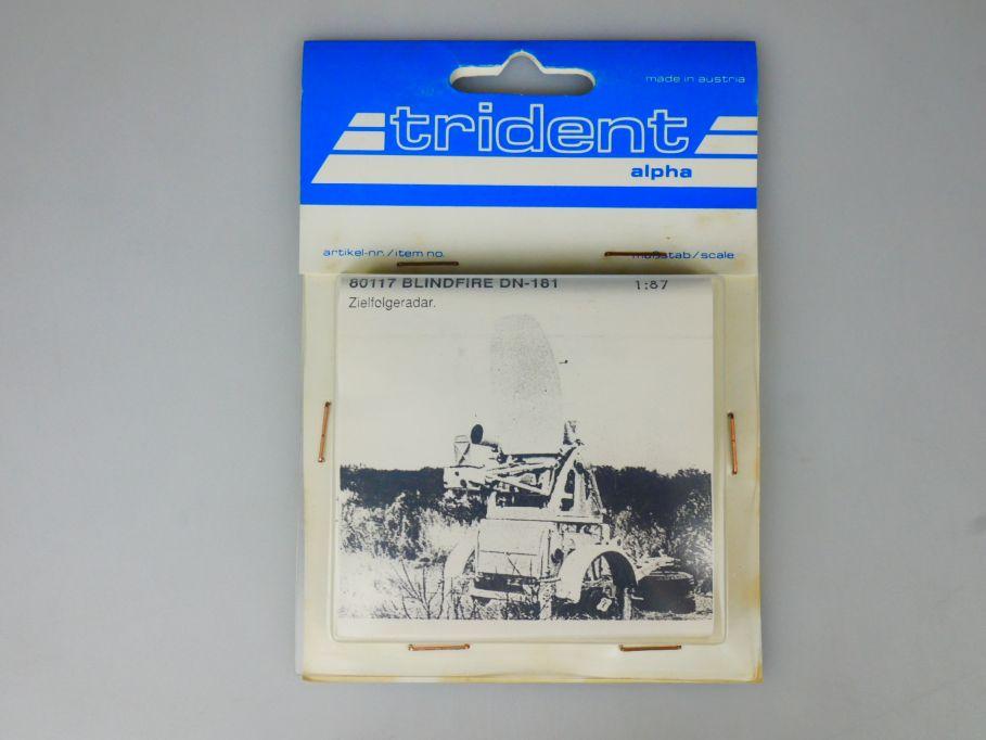 Trident 1/87 80117 Blindfire DN-181 Zielfolgeradar w/ Box 112253
