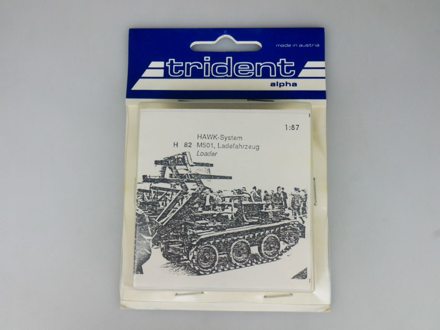 Trident 1/87 H82 HAWK-System M501 Ladefahrzeug Loader w/ Box 112254