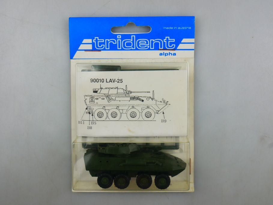 Trident 1/87 90010 LAV-25 Panzer Tank kit w/ Box 112255