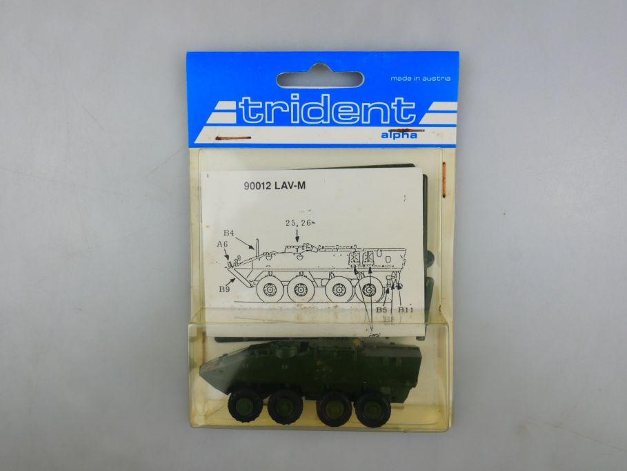 Trident 1/87 90012 LAV-M Panzer Tank kit w/ Box 112260