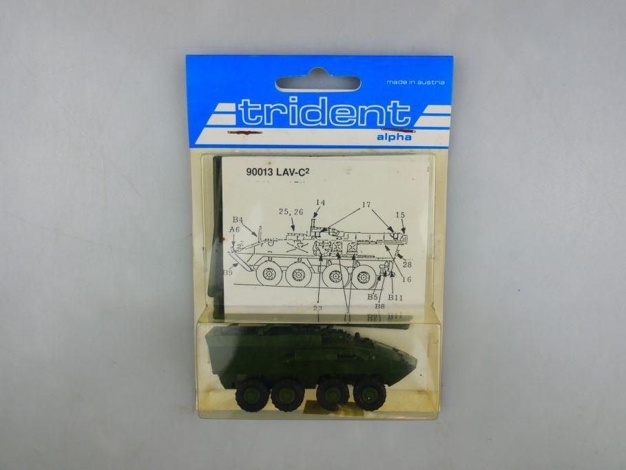 Trident 1/87 90013 LAV-C 2 Panzer Tank kit w/ Box 112261