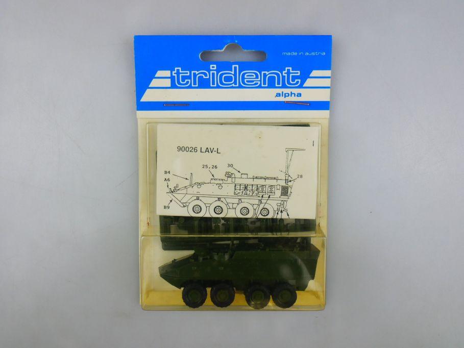 Trident 1/87 90026 LAV-L Panzer Tank kit w/ Box 112262