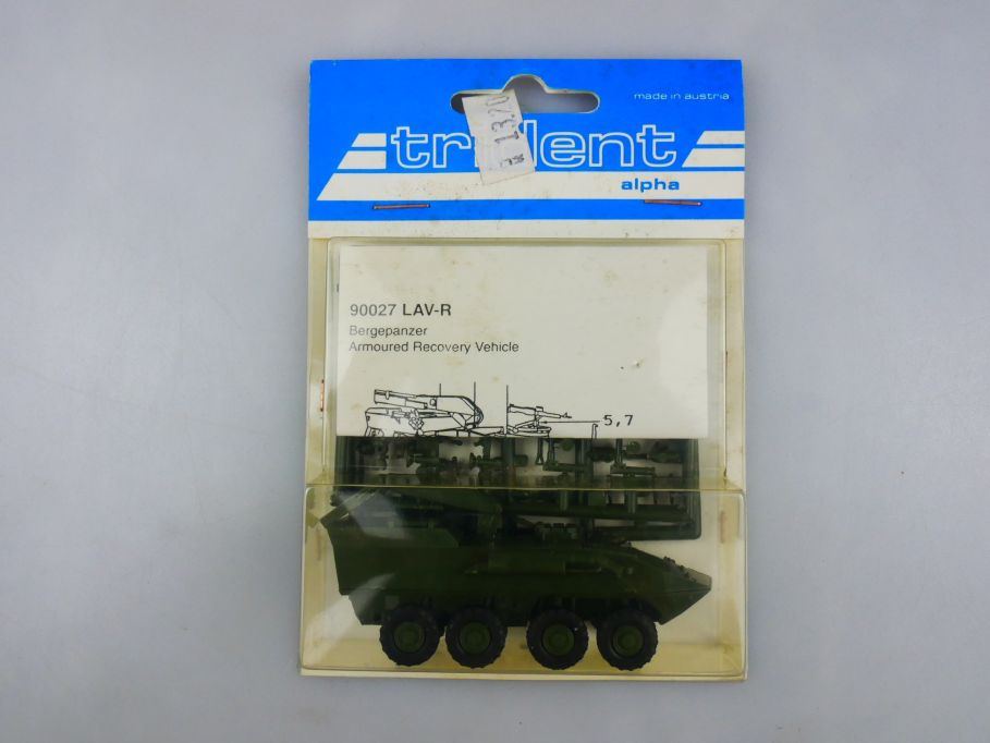 Trident 1/87 90027 LAV-R Bergepanzer Panzer Tank kit w/ Box 112263