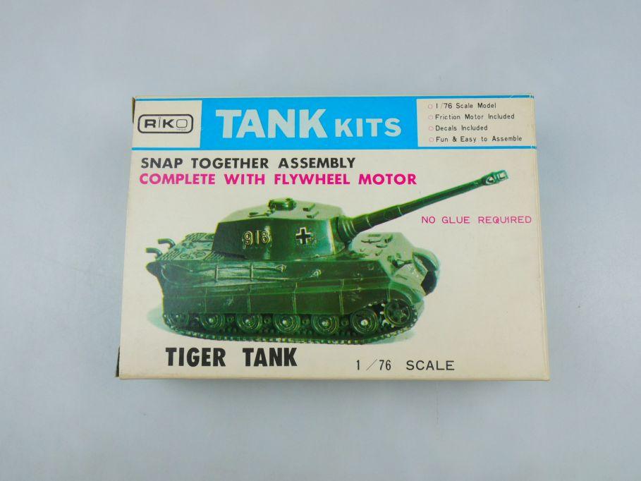 Riko 1/76 deutscher Tiger Tank Panzer kit w/Box 112294