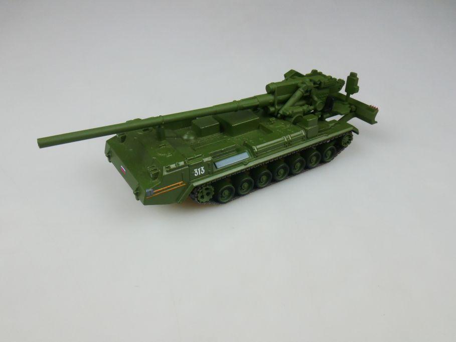 Fabbri 1/72 2S7 Pion diecast russischer Artillerie Panzer Tank w/o Box 112287