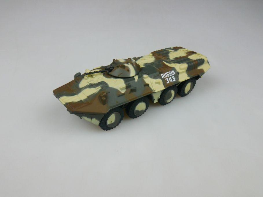 Eaglemoss 1/72 BTR-80 8-Rad diecast Russ. Schützen Panzer Kfor w/o Box 112288