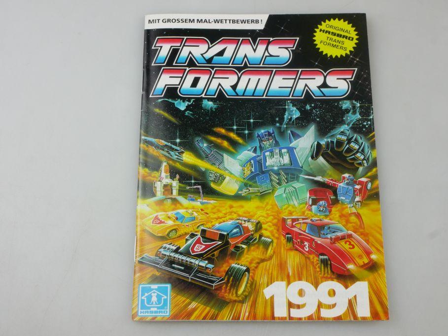 Transformers 1991 Katalog 40 S. german catalog Hasbro Trans Formers 112312