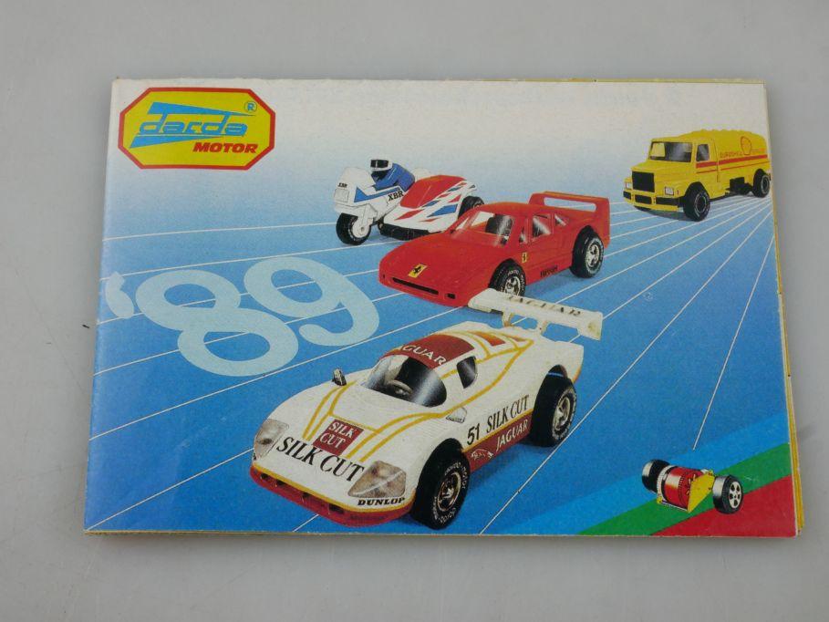 Darda Motor ´89 Faltblatt 1989 Deutsch german leaflet Katalog catalog  112314